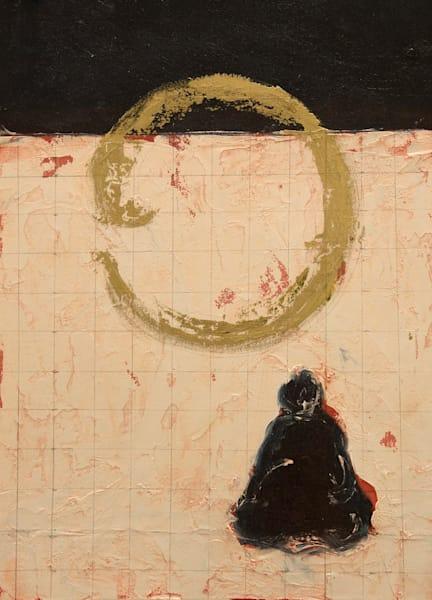 Buddha Contemplating Near Horizon Art | Norlynne Coar Fine Art