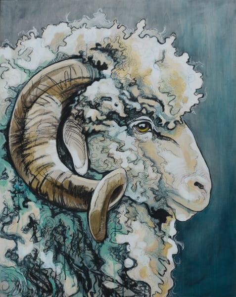 Mighty Ram Art   Kelsey Showalter Studios
