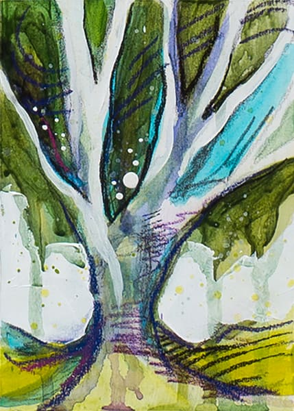 Tree Study 9 Art   Kelsey Showalter Studios