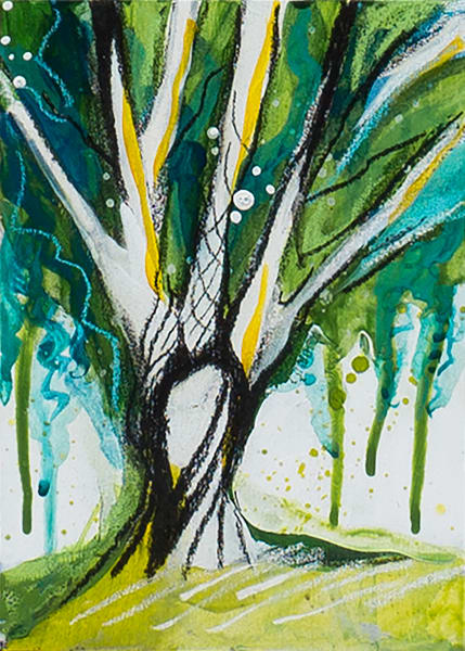 Tree Study 8 Art   Kelsey Showalter Studios