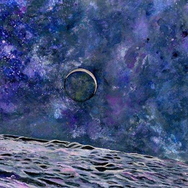 Earthrise Art | Artwork by Rouch