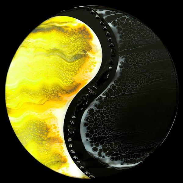 Yin Yang/Day Vs Night Art   Breathe Art Paintings