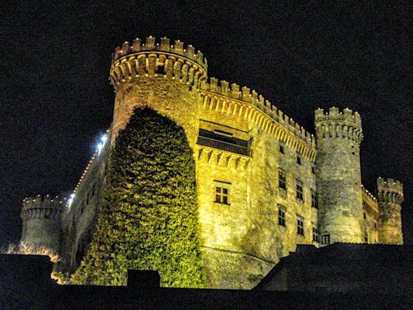 Italian Castle In The Sky Photography Art | Photoissimo - Fine Art Photography