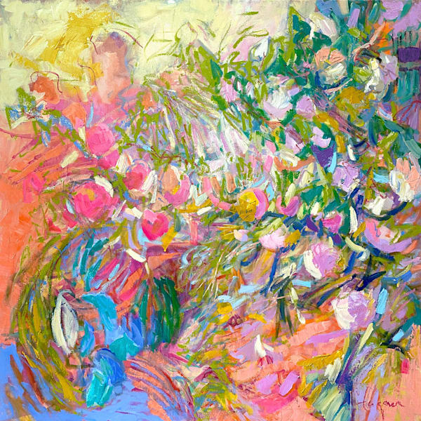Goddess Painting, Original Oil on Canvas by Dorothy Fagan