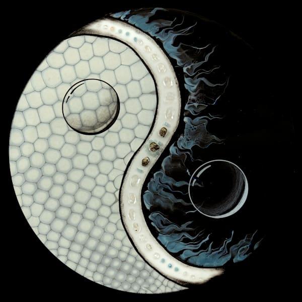 Yin Yang/Protector Of Water Art   Breathe Art Paintings