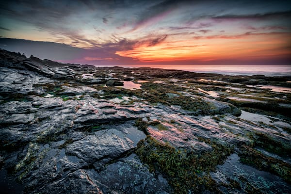 Low Tide at Two Lights   Shop Photography by Rick Berk