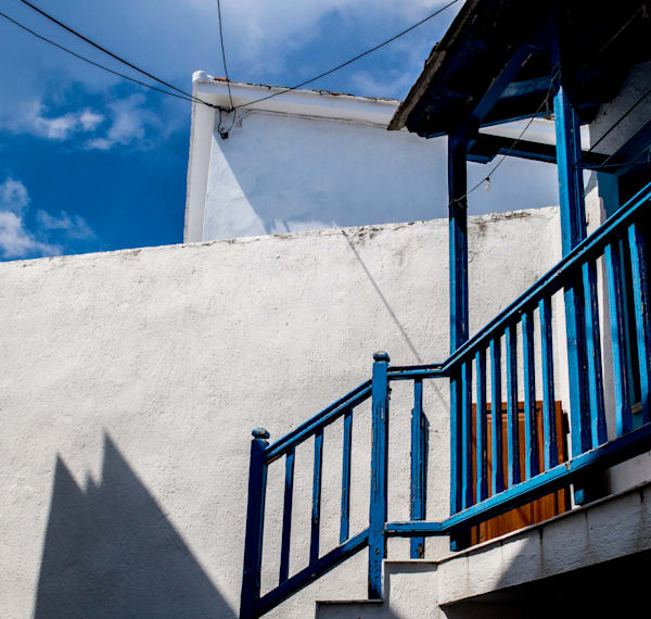 Blue Skopelos Photography Art | Ben Asen Photography