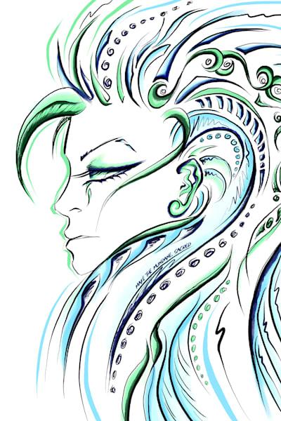 Virgo (August 23rd   September 22nd) Art | Angel Trip Studio