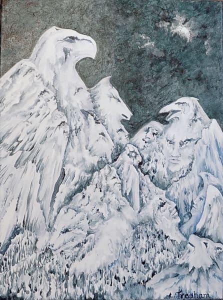 High Spirit Council Art | treshamgregg - spiritart