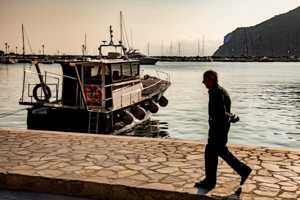 Early Morning Walk, Skopelos Photography Art | Ben Asen Photography