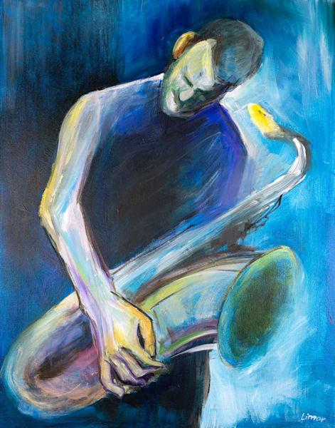 Listening Original Art | Limor Dekel Fine Art