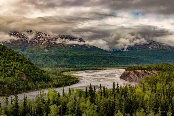 Matanuska River 6156 Photography Art | Koral Martin Fine Art Photography