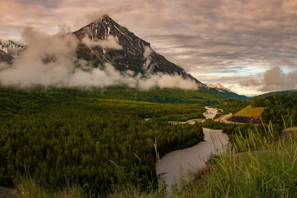 Matanuska River View 6110 Photography Art | Koral Martin Fine Art Photography