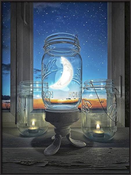 Artist Choice Canvas Consider the Moon