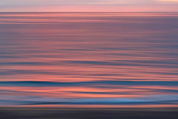 Sunset Reflection And Beach Blur Ii S6 A7315 Skardavik West Iceland Photography Art   Clemens Vanderwerf Photography