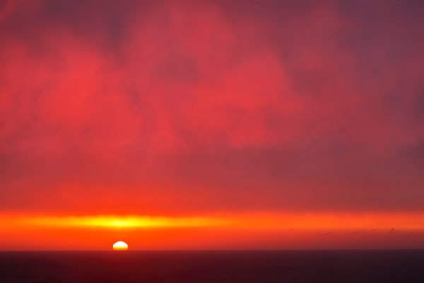 Sunset At Latrabjarg Cliffs A3 I3488 Latrabjarg West Iceland Photography Art   Clemens Vanderwerf Photography