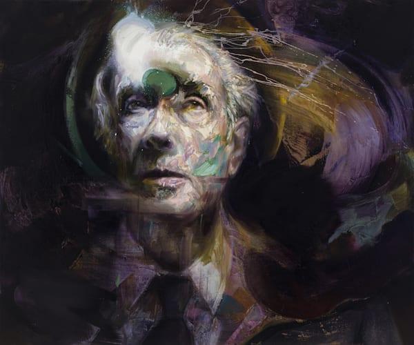 Jorge Luis Borges Art | Mathieu Laca