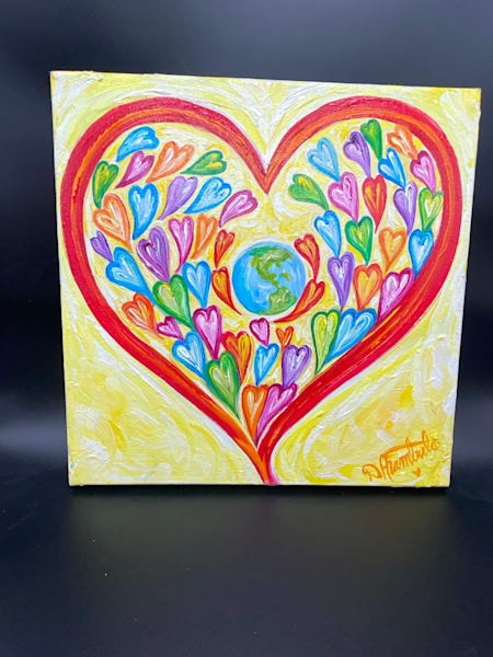 What Is Love, Love Is You Art | Heartworks Studio Inc