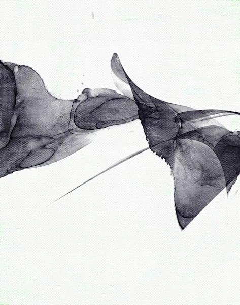Minimalist Monochrome Abstract Painting Art | onlythemoon