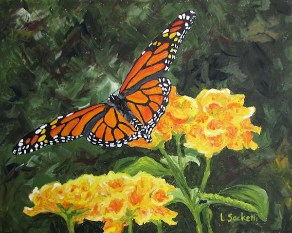 Fluttering Through Summer Art | Linda Sacketti