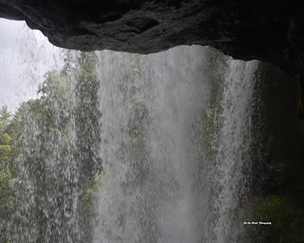Behind The Falls Photography Art | N2 the Woods Photography - Nature and Wildlife Artwork