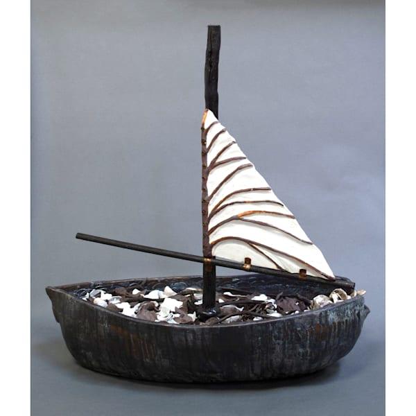 Ship Of Leaves Art   Norlynne Coar Fine Art