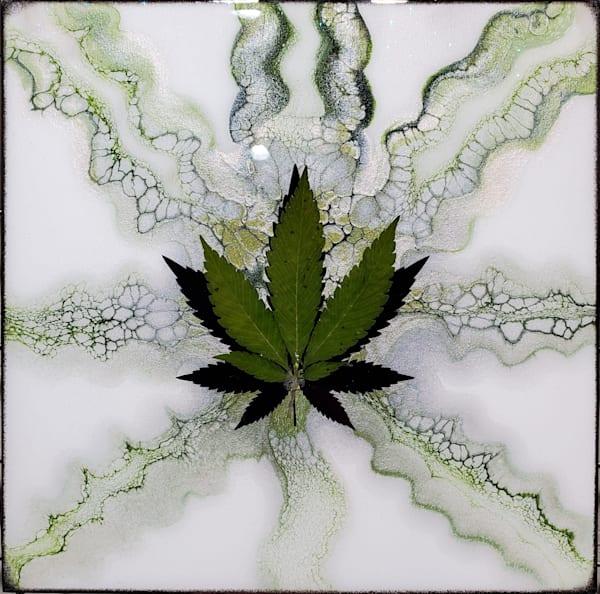 For Love Of The Leaf (Shimmer) Art   Breathe Art Paintings