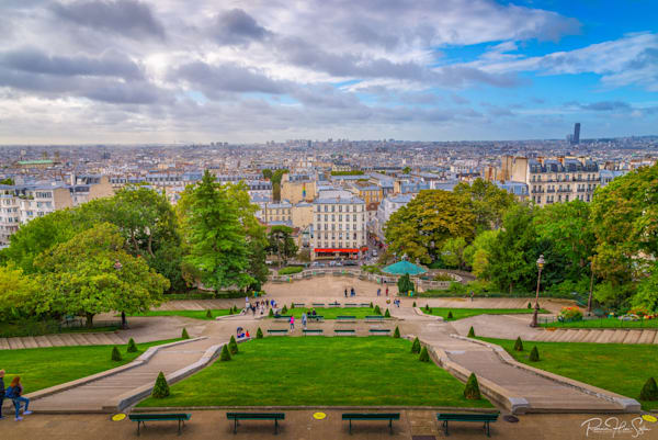 Paris: Montmartre's View Photography Art | RHS Gallery