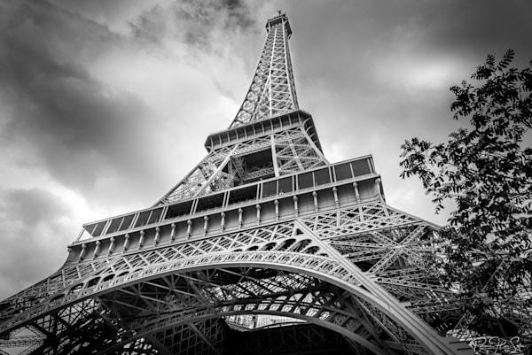 Paris: Eiffel Tower Side Photography Art | RHS Gallery