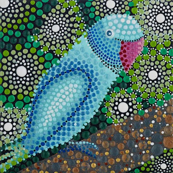 Jungle Parrot Original Painting