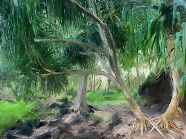 Maku'u Point Art | Rick Peterson Studio