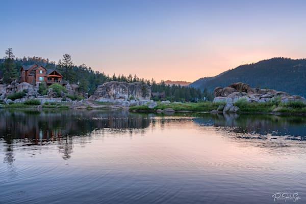 Big Bear Lake Sunset Photography Art | RHS Gallery