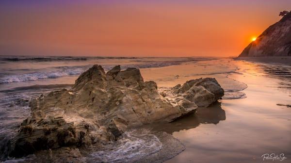 Santa Barbara Sunset Beach Photography Art | RHS Gallery