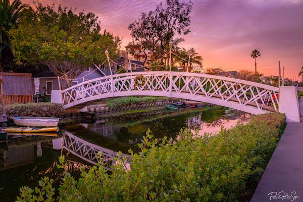 Venice Canal Bridge Photography Art | RHS Gallery
