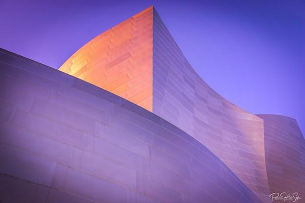 Walt Disney Concert Hall Color Curves Photography Art | RHS Gallery