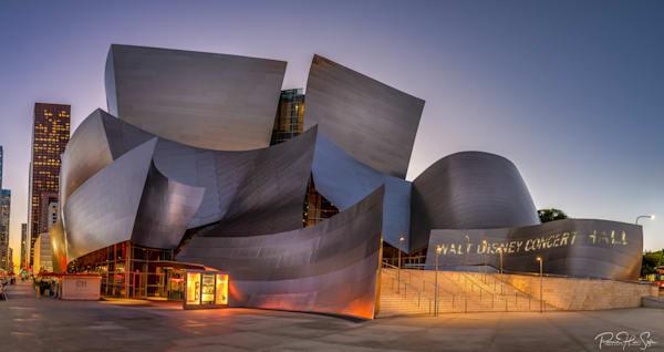 Walt Disney Concert Hall Sunset Photography Art | RHS Gallery
