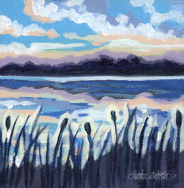 Evening Song Art | Kristin Webster Art Studio