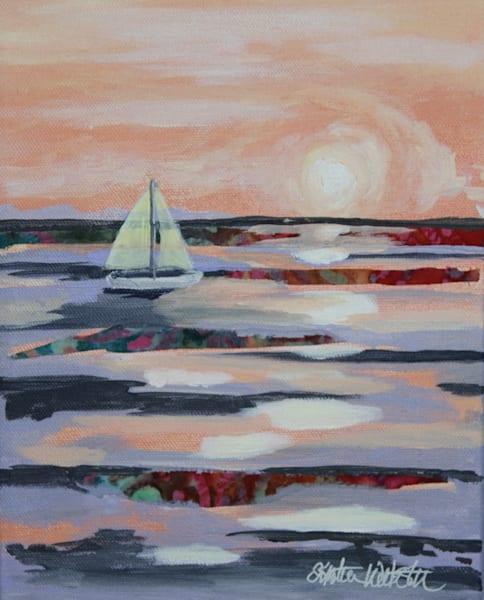 Finding Tranquility Art | Kristin Webster Art Studio