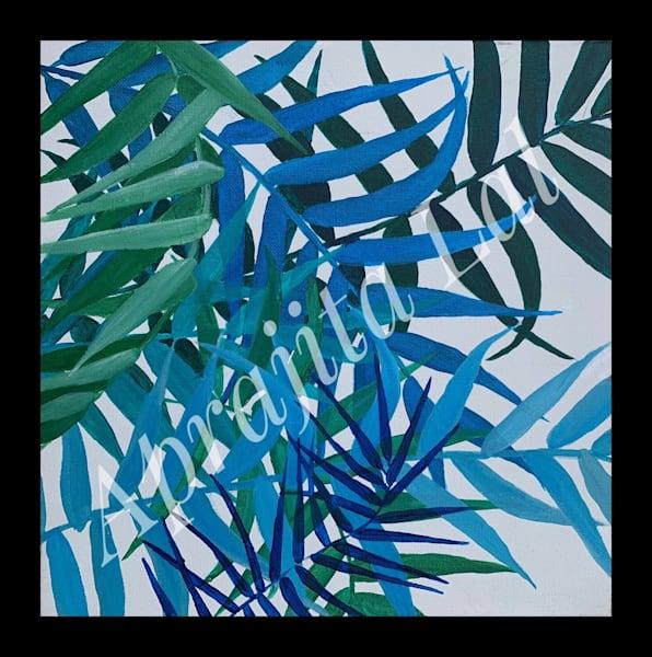 """Intertwined"" in Acrylics by Aprajita Lal (Original 12x12)"