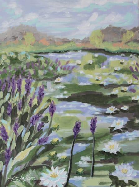 Mc Kenzie Lilies Art | Kristin Webster Art Studio