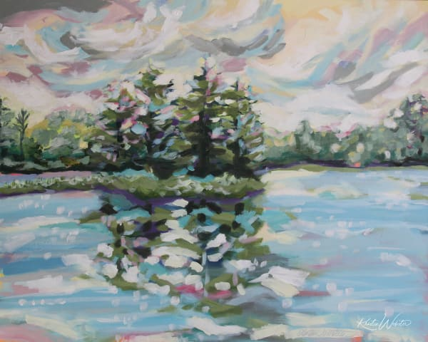 The Day Dawn Is Breaking Art | Kristin Webster Art Studio