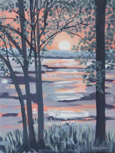 Through The Trees Art | Kristin Webster Art Studio