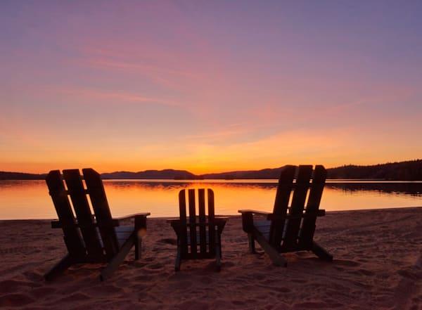 Pre Order Sunset Beach 4th Lake Puzzle | Kurt Gardner Photogarphy Gallery