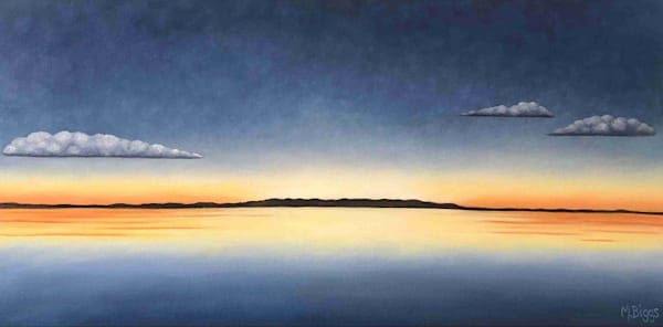 After Glow Art | Margaret Biggs Fine Art