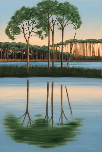 A Stand Of Pines Art | Margaret Biggs Fine Art