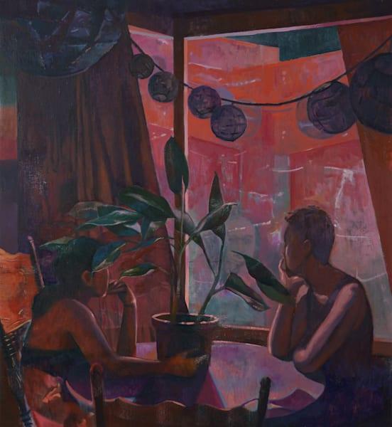 The Dining Table Art   Jono Wright Art