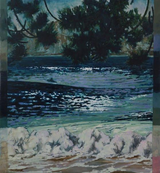 Night Surf Art   Jono Wright Art