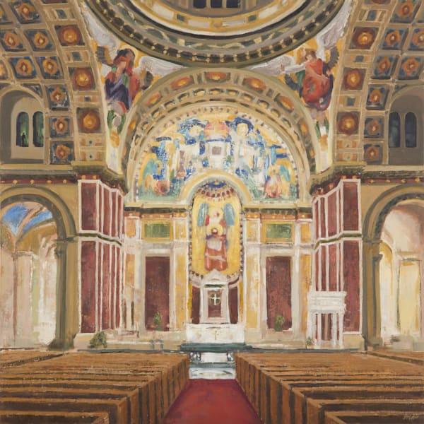 Saint Matthew's Cathedral Dc Interior  Art | Michelle Arnold Paine Fine Art