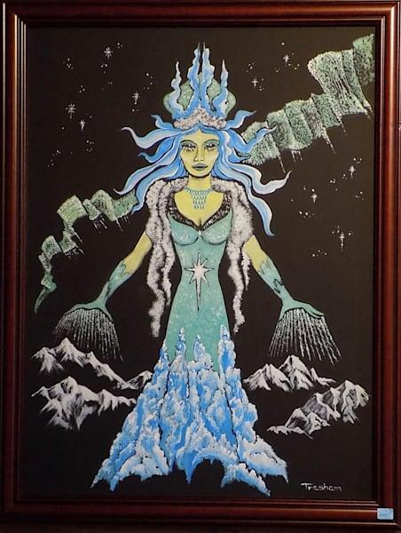 Aurora Goddess Art | treshamgregg - spiritart