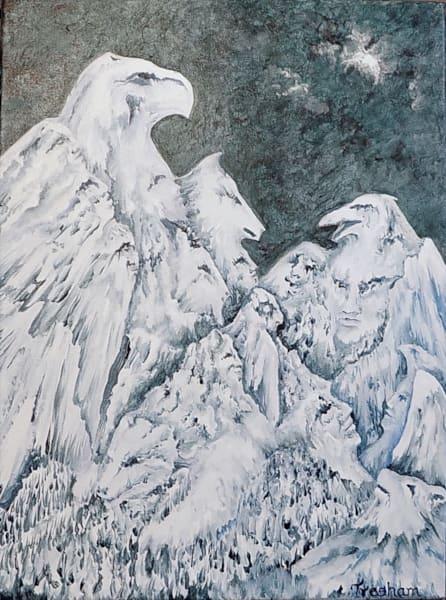 High Spirit Council Painting Art | treshamgregg - spiritart